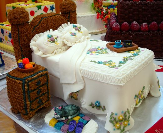 Bed Room Cake Picture for Fb Share