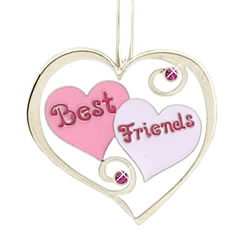 Best Friends Heart Graphic for Fb Share