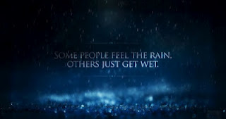 Some People Feel the Rain others just Gift Wet