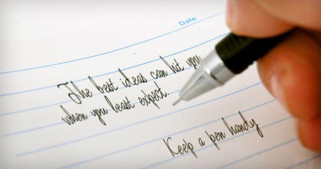 Keep a Pen Handy