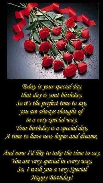 Today is Your Special Day