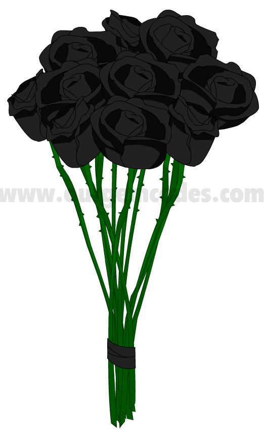 Bouquet of Black Roses