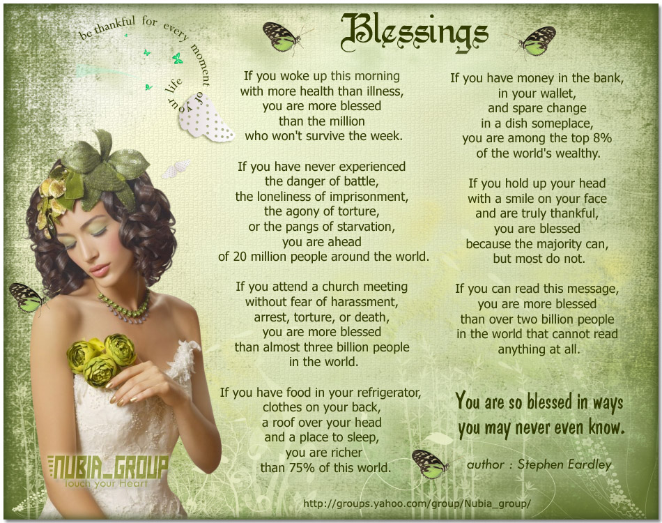 Blessings Graphic for Fb Share
