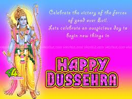 Happy Dussehra Graphic for Fb Share