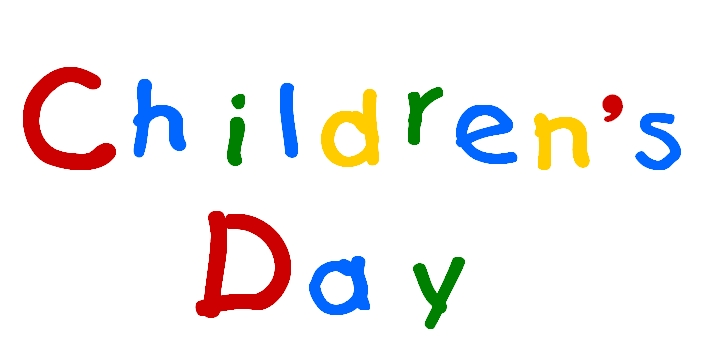 Children's Day Colourful Scrap for Orkut