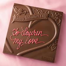 Happy Valentines day with Chocolate