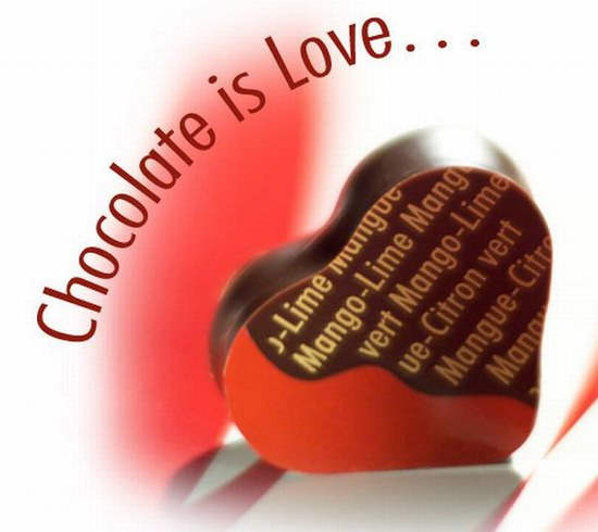 Chocolate is Love Happy Chocolate Day