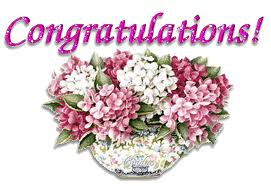 Congratulations Flower Graphic