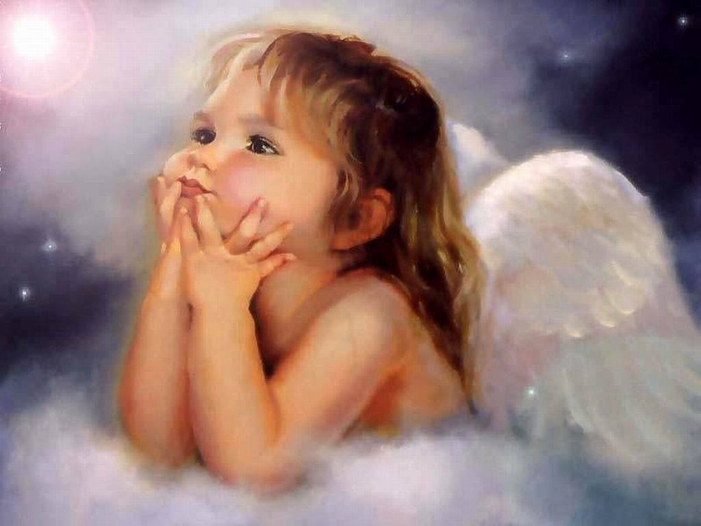 Cute baby angel Picture for Facebook Share