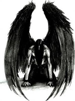 Devil angel tattoos for Fb Share