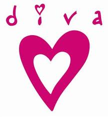 Diva Heart Graphic for Fb Share