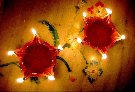 Diwali Lamp Picture for Fb Share