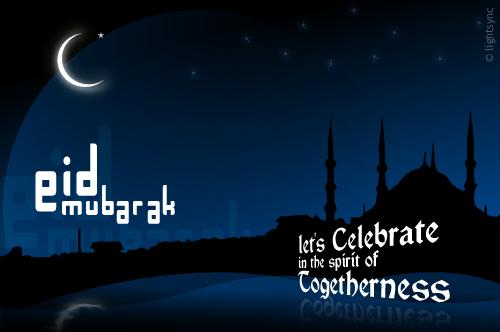 Eid Mubarak Lets Celebrate  in the Spirit of Togetherness