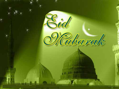 Eid Mubarak Graphic for Facebook Sharing