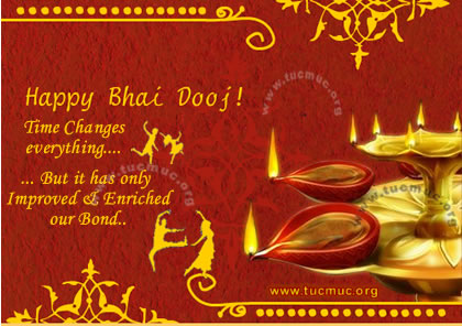 Happy Bhai Dooj Time Changes Everything…