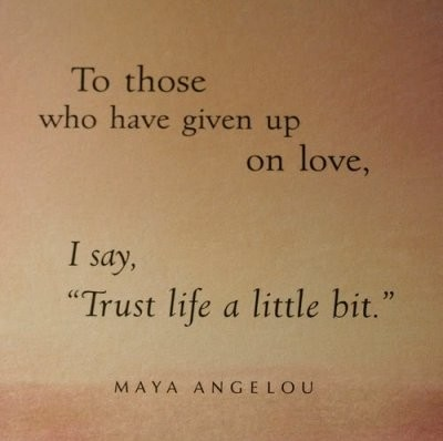 To Those Who Have Given up on Love