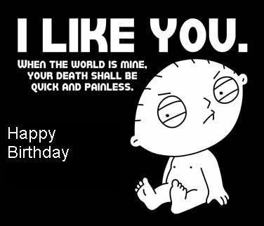 I Like You Funny Birthday Picture