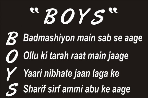 Boys Meaning Scrap for Orkut