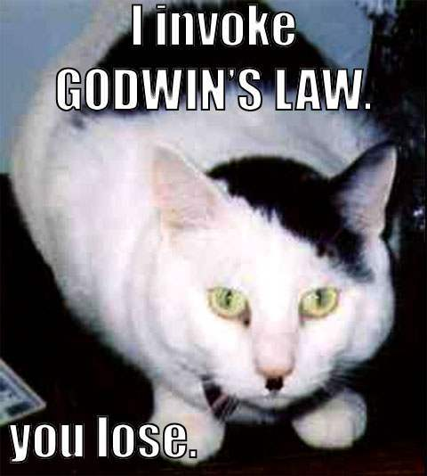 Godwin's Law Funny Cat Picture