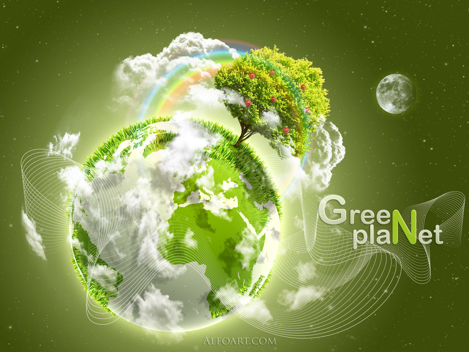 Green Planet Celebratet Earth Day April 22, 2013