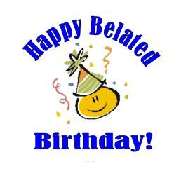 Happy Belated Birthday Scrap For Orkut Graphics99 Com