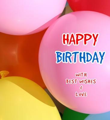 Happy Birthday with Best Wishes