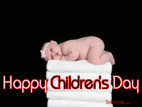 Happy Childrens Day baby Picture for Orkut