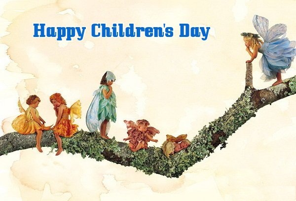 Happy Childrens Day Graphic for Facebook Sharing