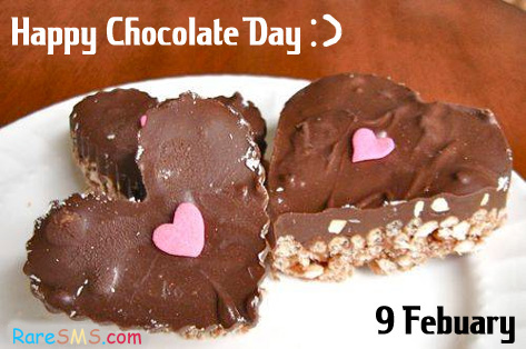 Happy Chocolate Day 9 Febuary