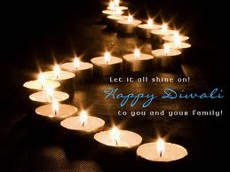 Let it Shine on Happy Diwali to you and Your Family