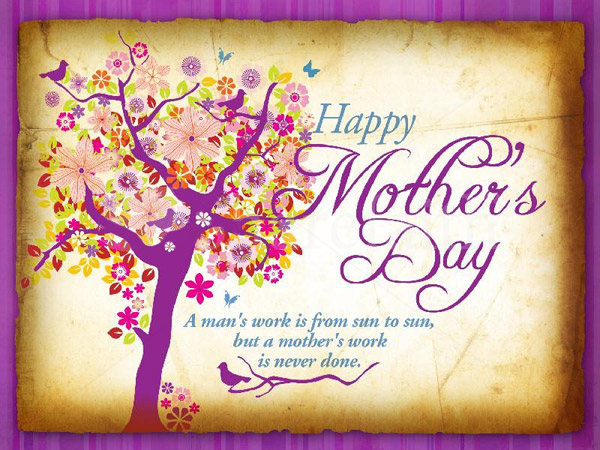 Beautiful Happy Mothers Day Card for Fb Share