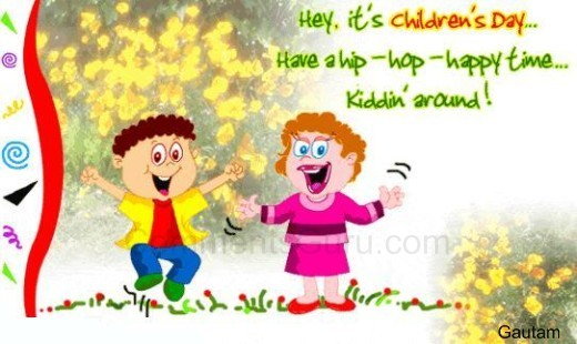 Hey It's Children's Day…