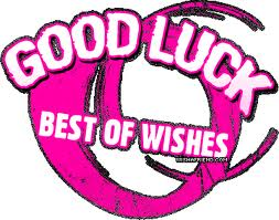 Good Luck Best of Wishes