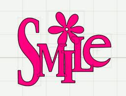 Pink Smile Image for f share