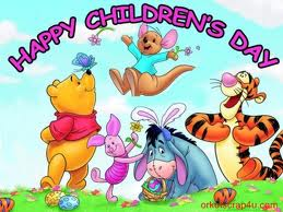 Happy Childrens Day Cartoon Picture