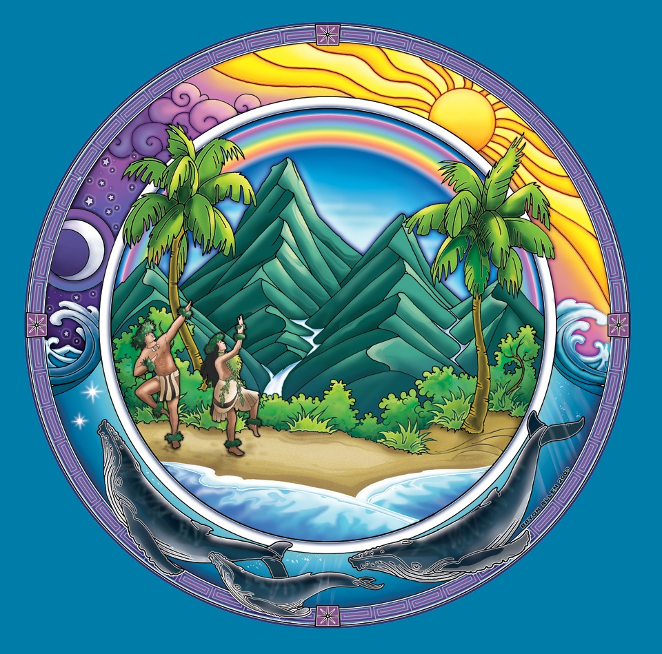 Earth Day Round Picture for Fb Share