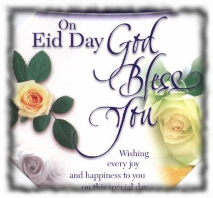 On Eid Day God Bless you