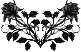 Black Roses Graphic for Fb Share