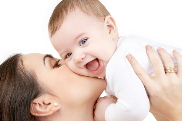 Cute Baby with Mother Picture