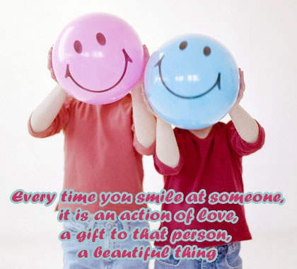 Smile - It is a beautiful thing