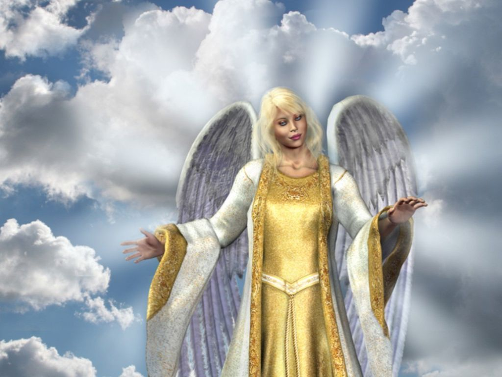 The Golden Angel Picture for Facebook Share