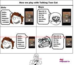 How we Play with Talking Tem Cat