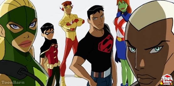 Young Justice on Cartoon Network