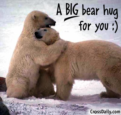 A Big Bear hug for You