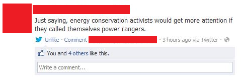 A brilliant solution to the energy crisis Funny Quote Image