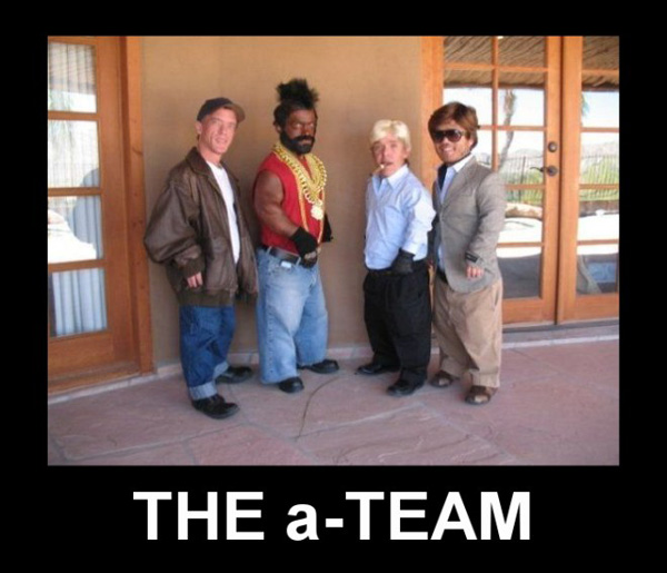 The a-Team Funny Men picture