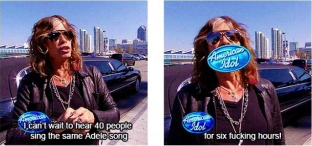 American Idol Funny People Image