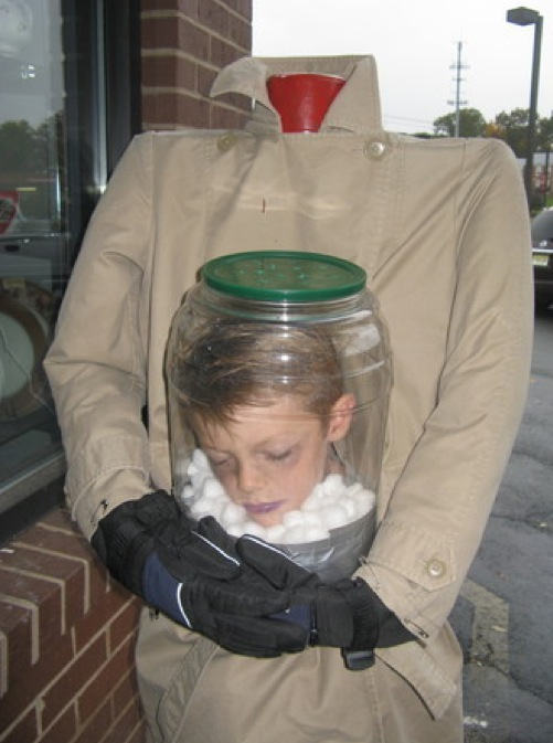 And the award for the best Halloween costume goes to Funny Picture