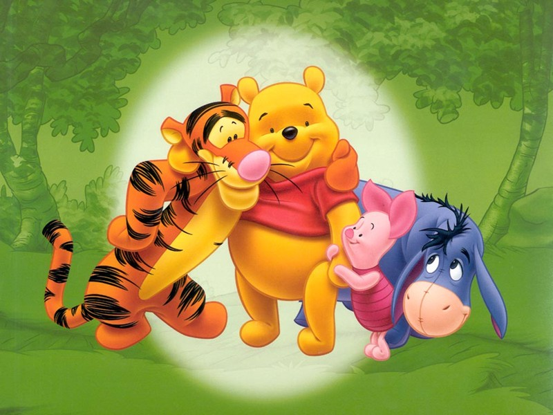 Best Friends Pooh Picture