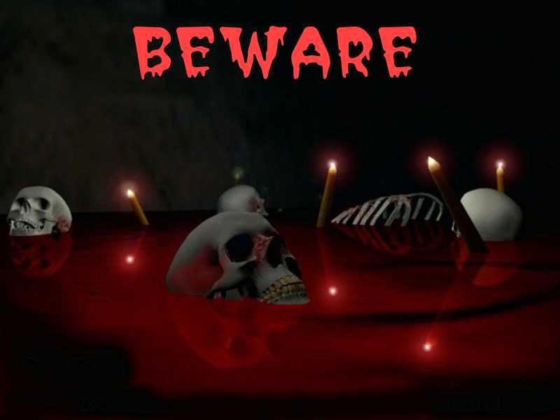 Beware Halloween Picture